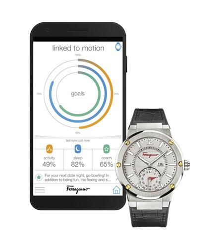 Ferragamo推出全新F-80 Motion高科技智能核心腕表