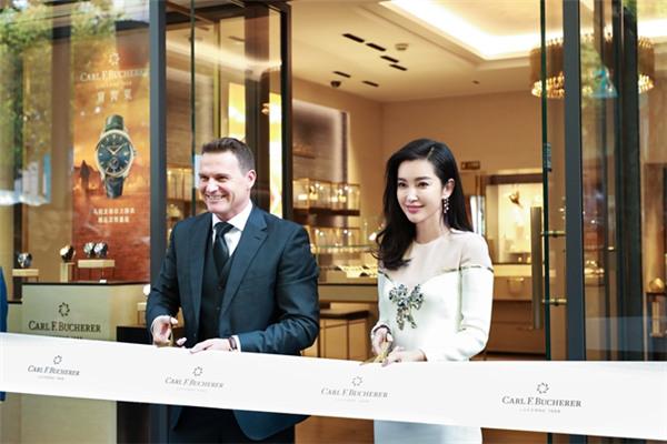 宝齐莱名表品牌携手范冰冰于上海开启全新形象精品店