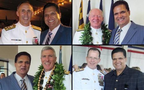 美海军重大腐败案 两名上将落马