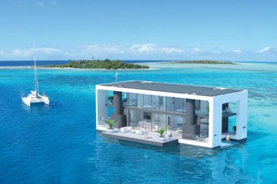 Arkup推出可移动浮动宜居游艇 享受真正奢华舒适的生活