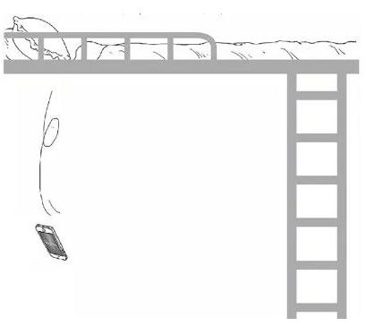 大一男生坐上铺玩手机坠亡 哪些方法可以避免?