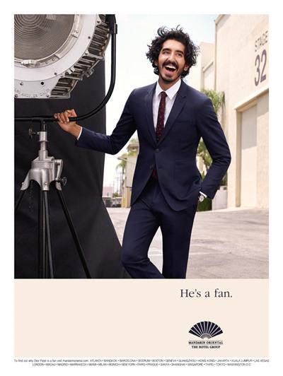Dev Patel加入文华东方酒店集团全球广告计划