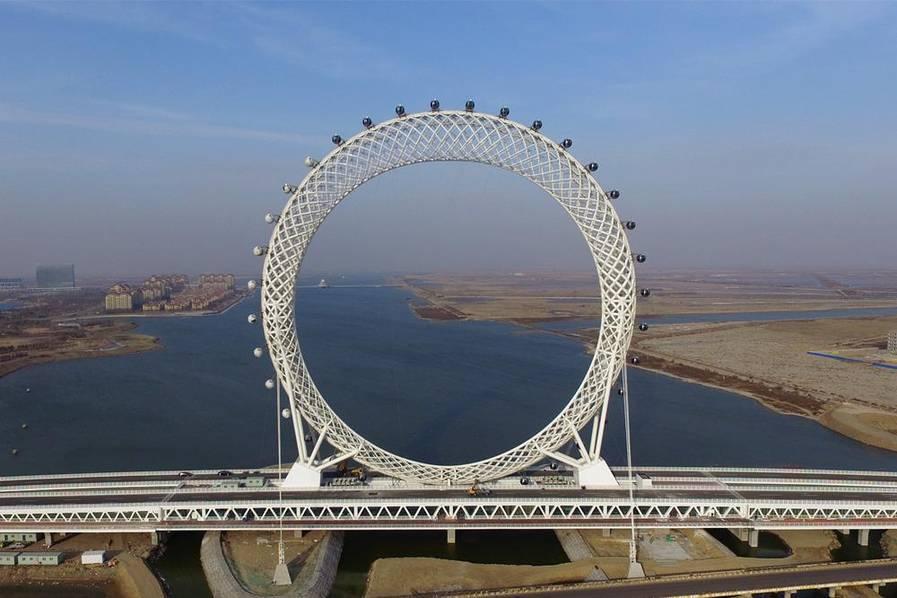 山东现世界最大摩天轮