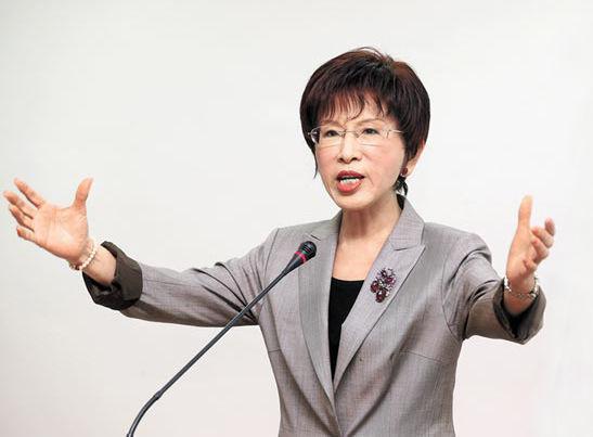 洪秀柱谈统一时间表 台湾民众害怕统一是基于不了解大陆