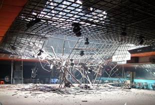 西班牙舞池坍塌 40名顾客跌入地下室
