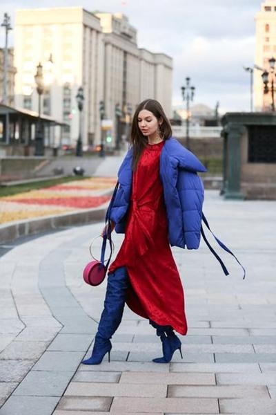 达人服装流行趋势示范 三款单品让你时髦过冬
