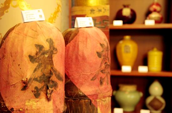 百年老茶首次齐聚京城 共计500多件茶品