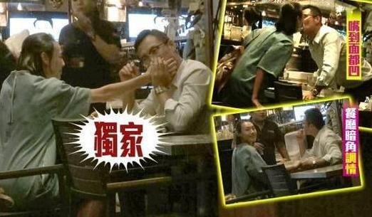 梁洛施欲脱离李家掌控 与新男友甜蜜逛街吃饭看电影