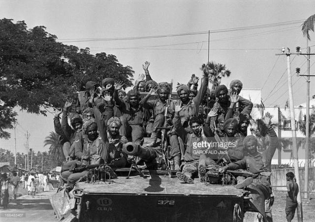 印度50万大军突袭巴铁 导致巴基斯坦丧失了56%的人口和1/7的领土!