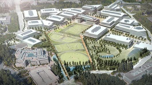 微软计划斥数十亿美元 对雷德蒙德市主园区大规模改造