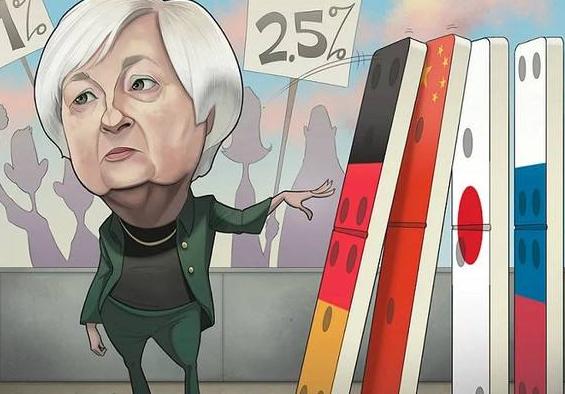 股票k线价格暴跌原因分析:耶伦暗示加息 现货股票k线无望1300