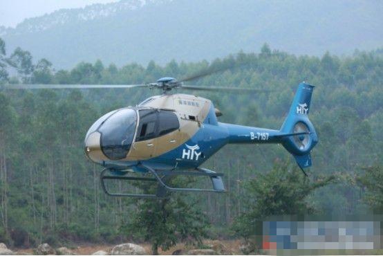 海天域通航举办汕尾市首家私人直升机场启航仪式