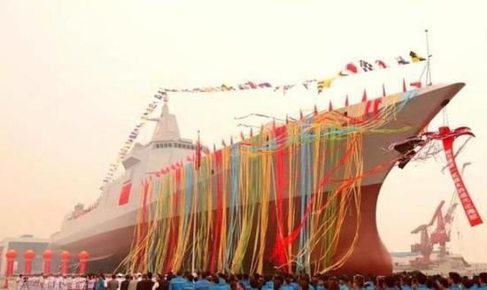 传中国5000吨新舰将问世 054B型护卫舰拥有较强远海反潜能力