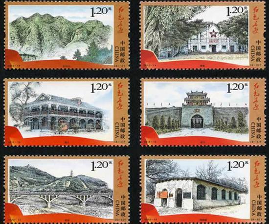 《红色足迹》邮票有收藏价值吗?