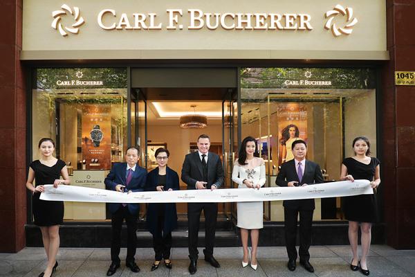 宝齐莱名表品牌于上海市南京西路开启全新形象精品店