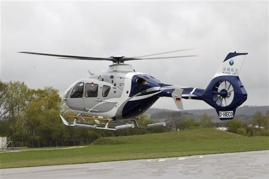 空客H135私人直升机:带给人们全新公务旅行体验