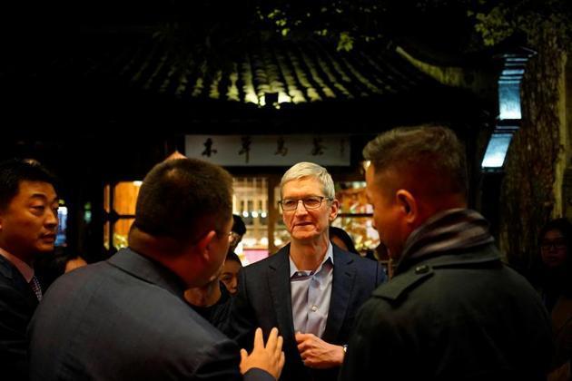 苹果CEO:开发商在中国发布大量App 获利1120亿元