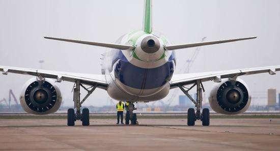 国产飞机C919第二架试验机进入试飞准备阶段