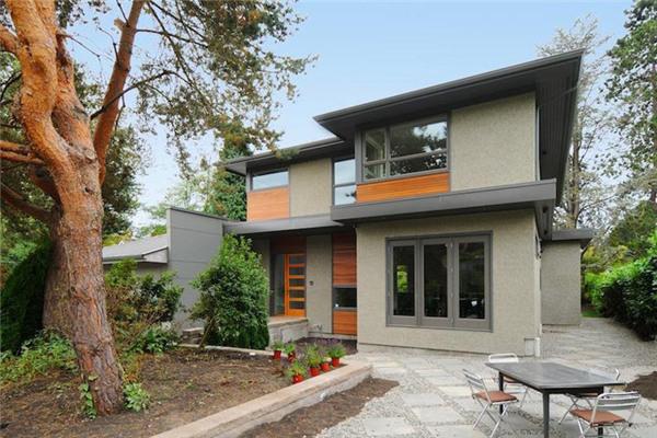 加拿大温哥华豪宅:室内面积约4166平方英尺