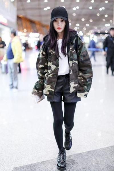 """冬季服装流行趋势示范 来件迷彩单品就能""""攻气十足"""""""