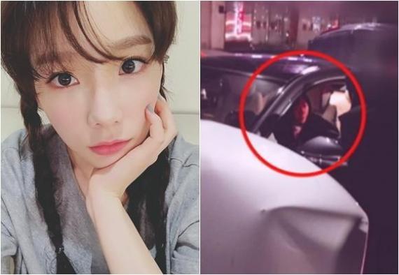 泰妍承认车祸时狗在车上 车祸发生原因完全是自己的错