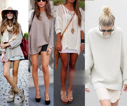 达人服装流行趋势示范 三个方案让长款毛衣美一整冬