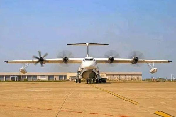 大型水陆两栖国产飞机AG600通过首飞技术质量评审