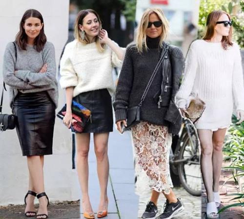 是时候添一件毛衣了 三个穿法让你闪亮街头