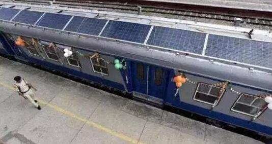印度太阳能应用又开发新领域 太阳能火车环保节能