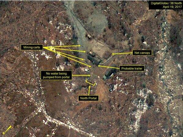 朝鲜核试验场2.8级地震 疑第六次核试验诱发