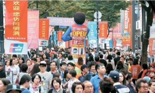 韩国旅游收入锐减 因中国游客大幅减少
