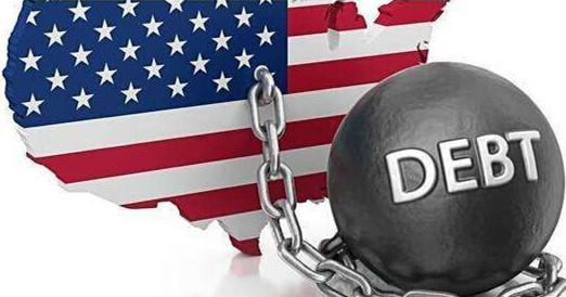 """经济危险信号!美国债务惊现""""拐点""""引担忧"""