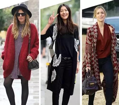 冬季服装流行趋势示范 针织衫让你有100种穿搭造型