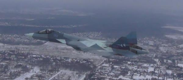 俄军苏57换新航发首飞 性能在现有AL-41F基础上有较大幅度的提高