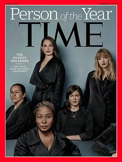 时代周刊年度人物揭晓 打破沉默者当选《时代周刊》2017年度人物