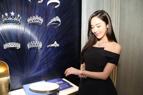 Chaumet携手郑秀妍开启台北101购物中心概念店揭幕仪式
