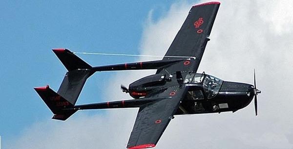 赛斯纳337:拥有320千米最大飞行速度的小型私人飞机
