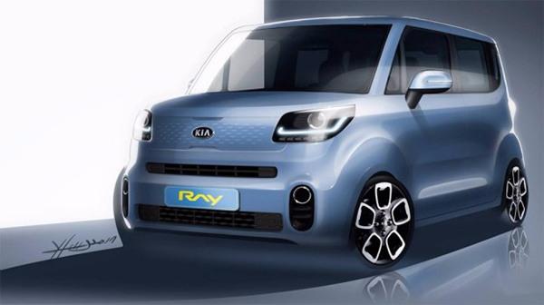 起亚名车品牌公布全新Ray预告图 12月正式海外首发