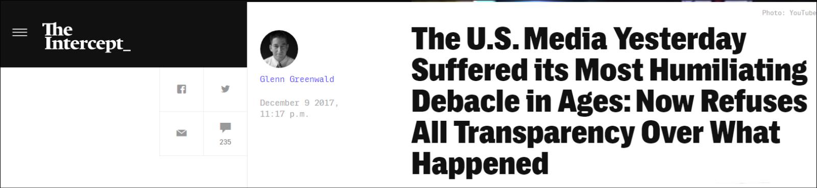 美媒体最丢人一天 这条假新闻传播得实在是太出乎意料了!