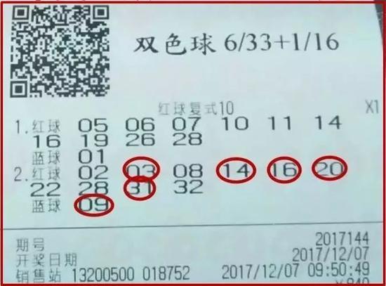 北京彩民10+1复式票揽1131万 系10位彩民合买