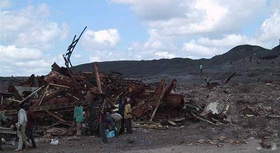 卡布韦,非洲国家赞比亚第二大城市,是铅锌富矿区