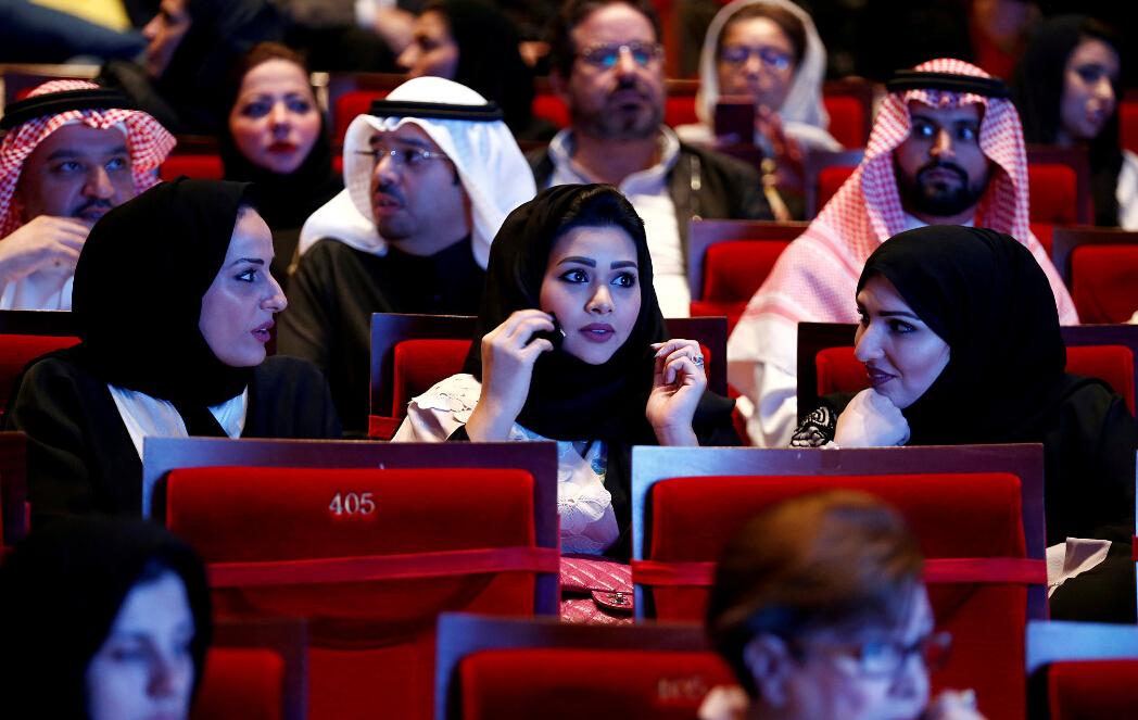 这是35年来沙特首次解禁电影院。