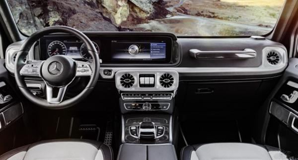 奔驰正式发布全新G级内饰官图 豪华属性将进一步提升