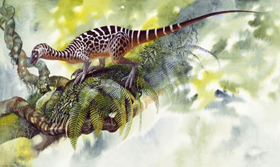 """""""侏罗纪""""再临?!琥珀标本中惊现史前恐龙尾巴"""