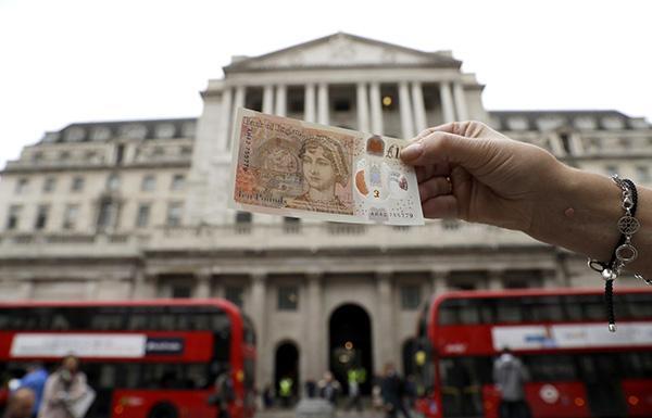 通胀升逾5年新高 英国央行面临加息压力?