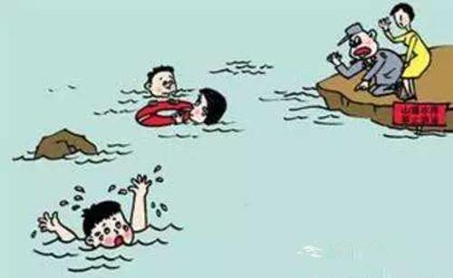 两男孩游泳时溺水 同伴施救未果被诉