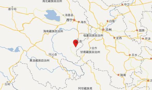 青海发生4.9级地震 附近平均海拔3537米