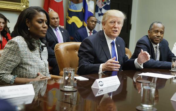 女星遭白宫开除 曾帮川普拉黑人选票