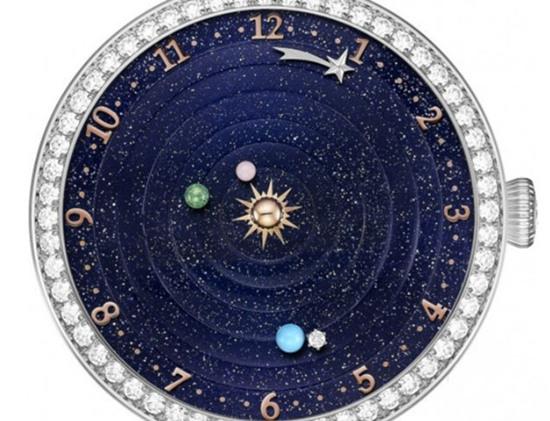 梵克雅宝推出全新Lady ArpelsPlanétarium女性腕表