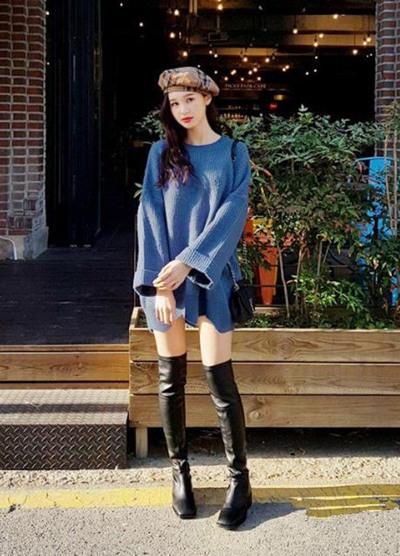 欧美服装流行趋势示范 3款毛衣让你冬季时髦翻倍